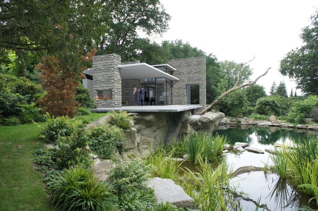 Villanueva Architect Poolhouse